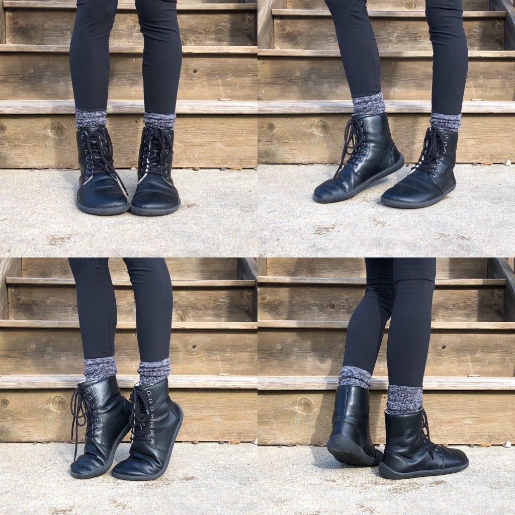 Belenka winter boots review black barefoot