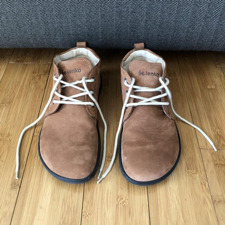 Belenka Icon barefoot shoe review cognac