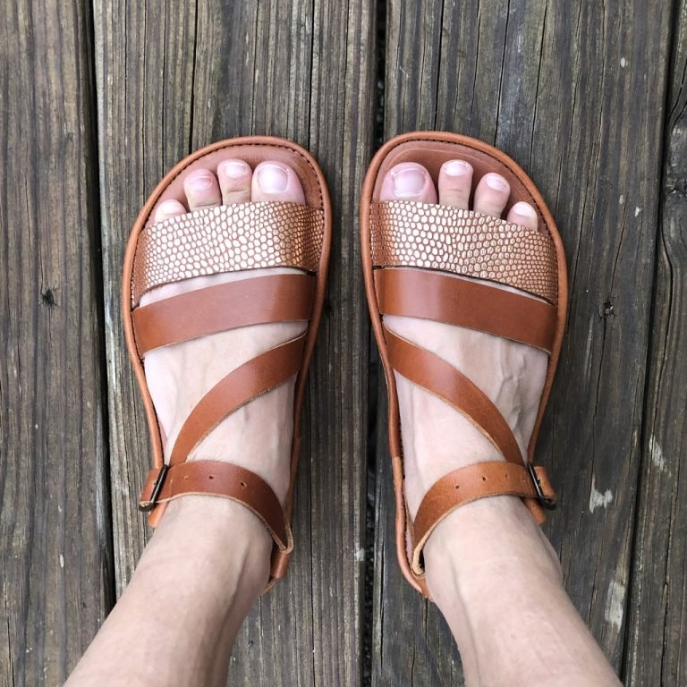 the drifter leather safita sandals review close up