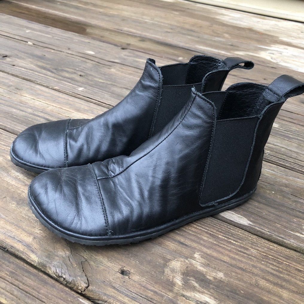 the drifter leather black chelsea boots