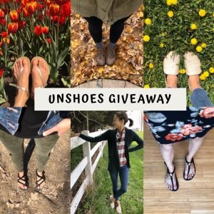 Unshoes Giveaway collage