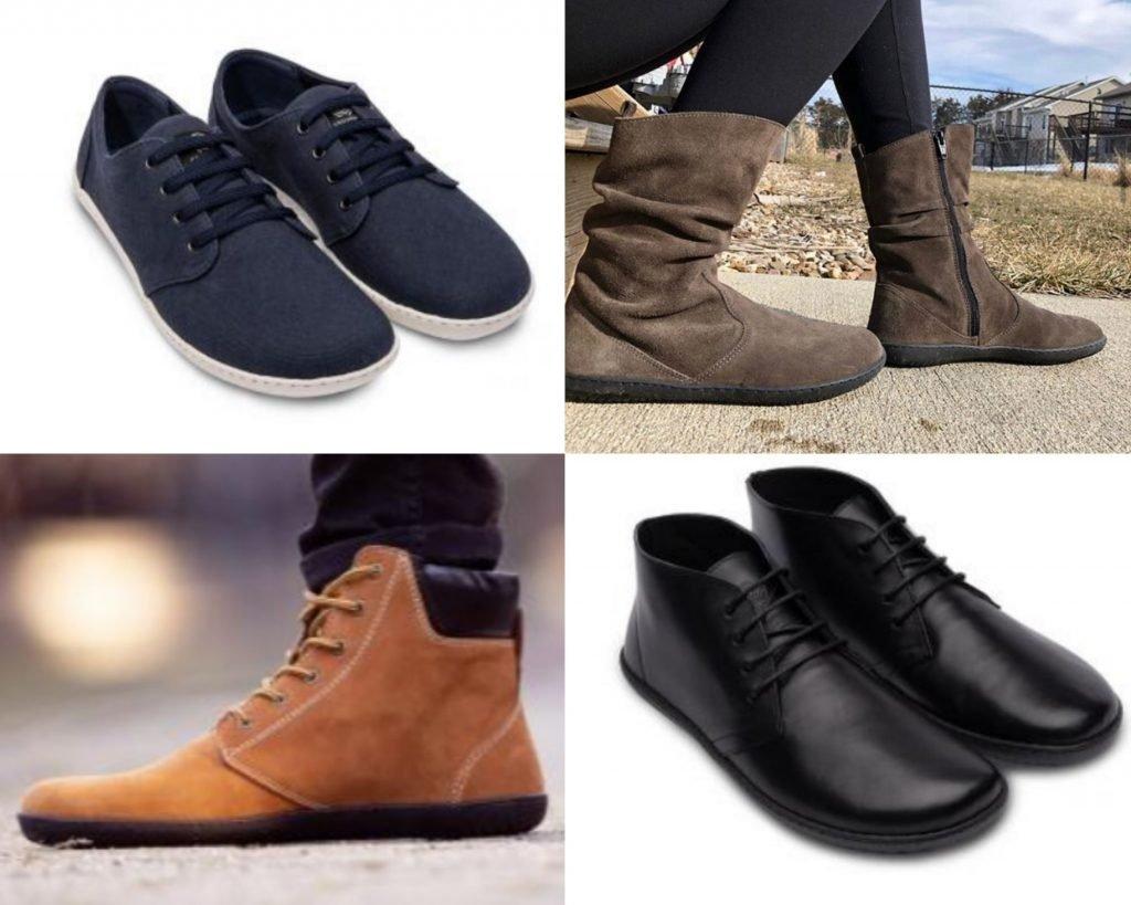 Groundies urban barefoot wear collage