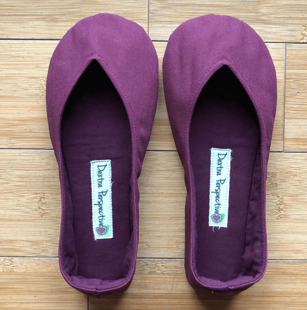 barefoot minimalist vegan ballet flats
