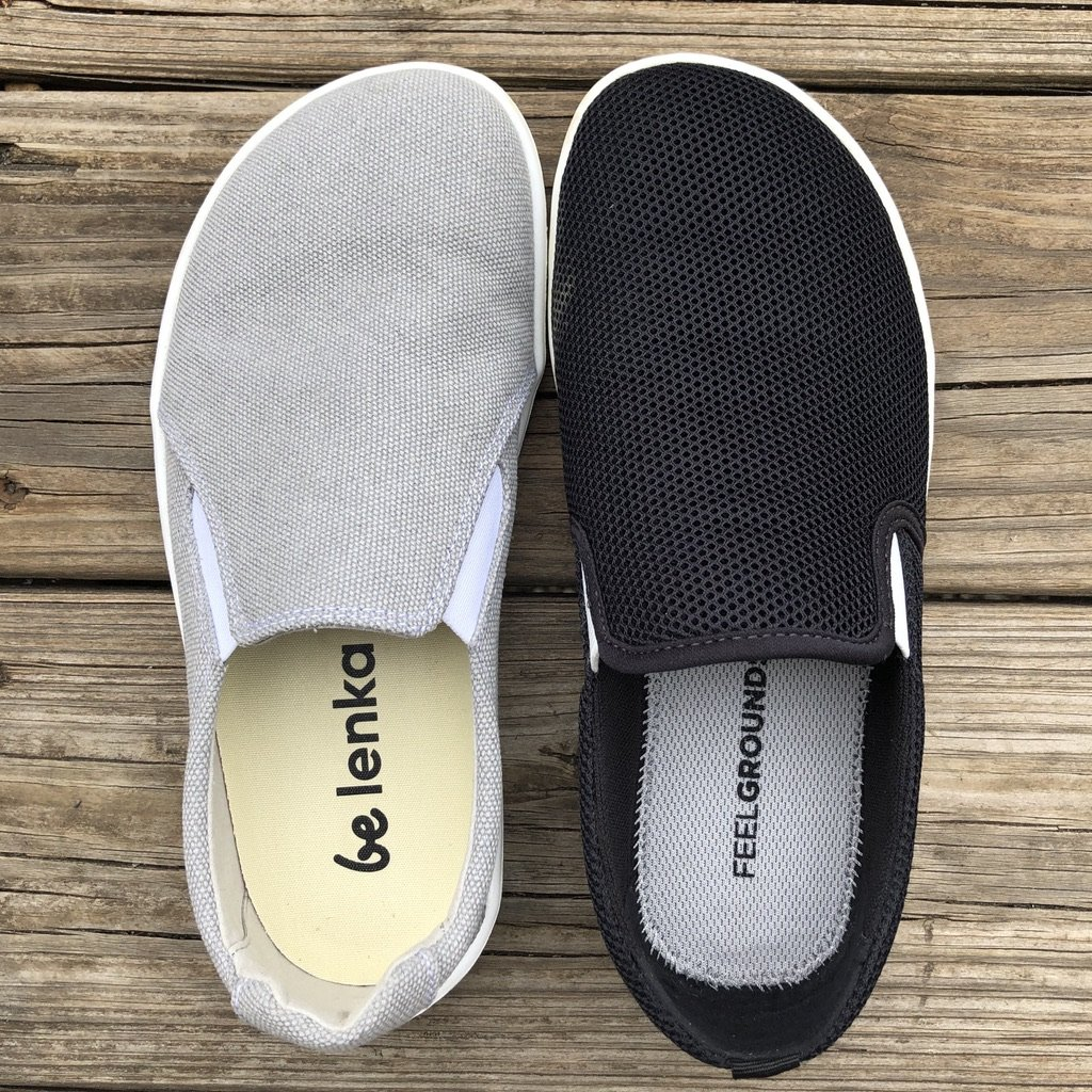 Feelgrounds droptop and Belenka Eazy barefoot shoe review