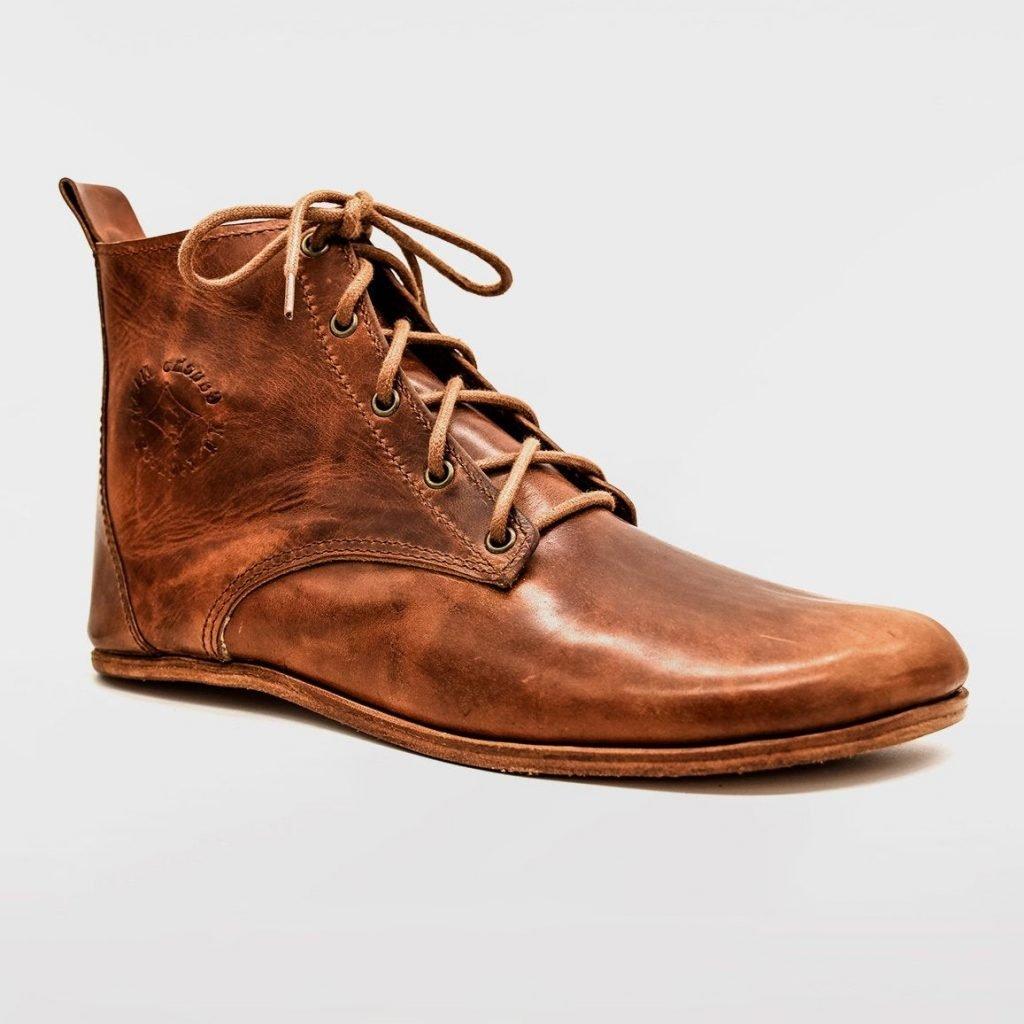 a Gaucho Ninja Leather handmade barefoot leather boot