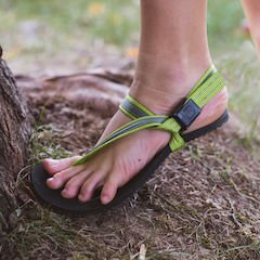 Earth Runners affordable barefoot sandals for big kids