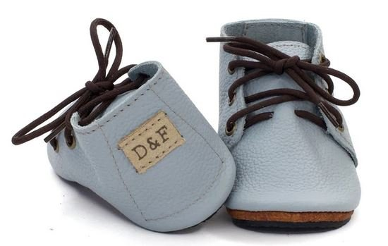 Duchess and Fox oxfords leather handmade barefoot little kids shoes