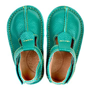 Ginger Shoes leather barefoot shoes for little kids