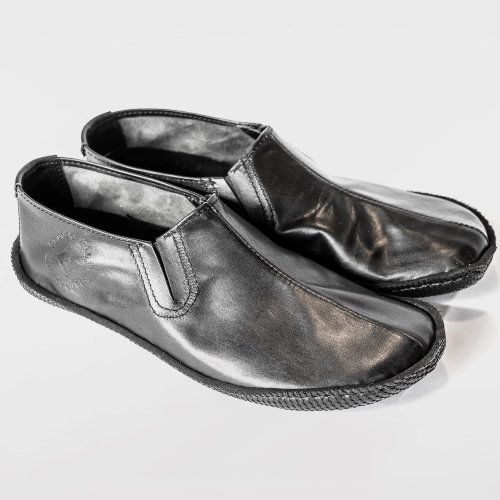 Stock photo of Gaucho Ninja Tao, handcrafted leather loafers