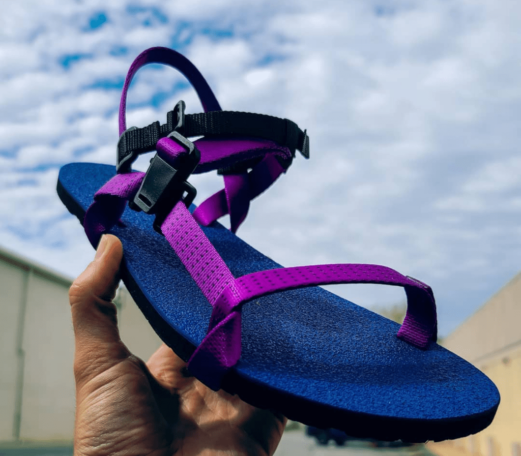 Deliberate Life Designs sandals without a toe post
